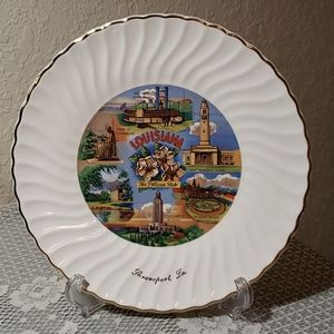 Louisiana collector plate